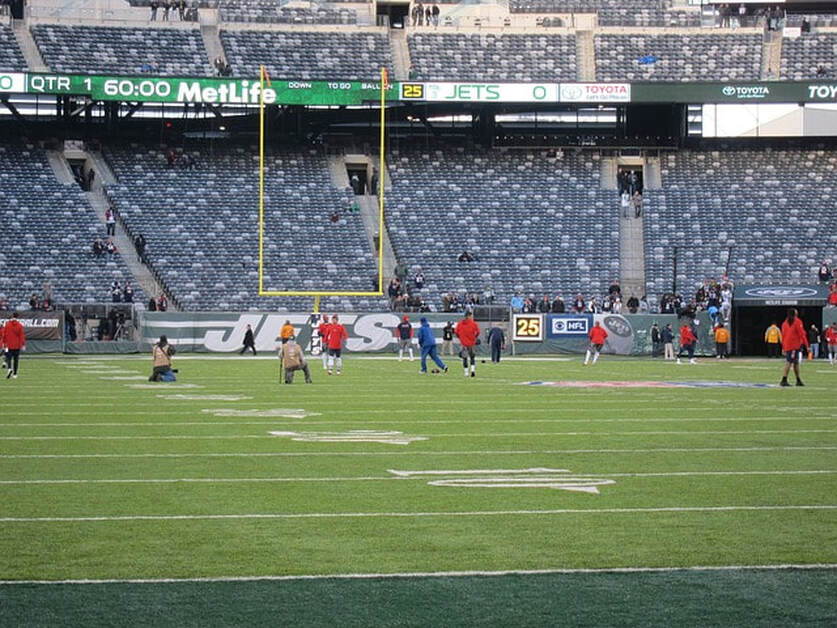 MetLife Stadium in Bergen County New Jersey